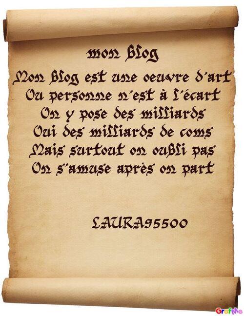 pour mon blog