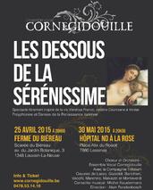 Les dessous de la Sérénissime - Ensemble vocal Cornegidouille