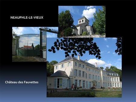 Le château des Fauvettes à Neauphle-le-Vieux