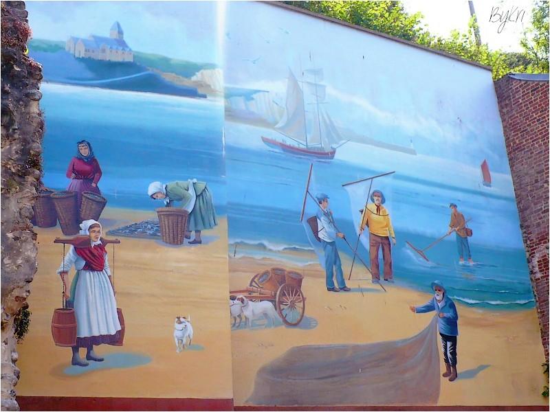 Le Tréport (76) ~ Ses Fresques ...