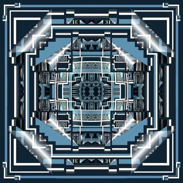 Mandala bleu 1 Marc de Metz 18 03 2011