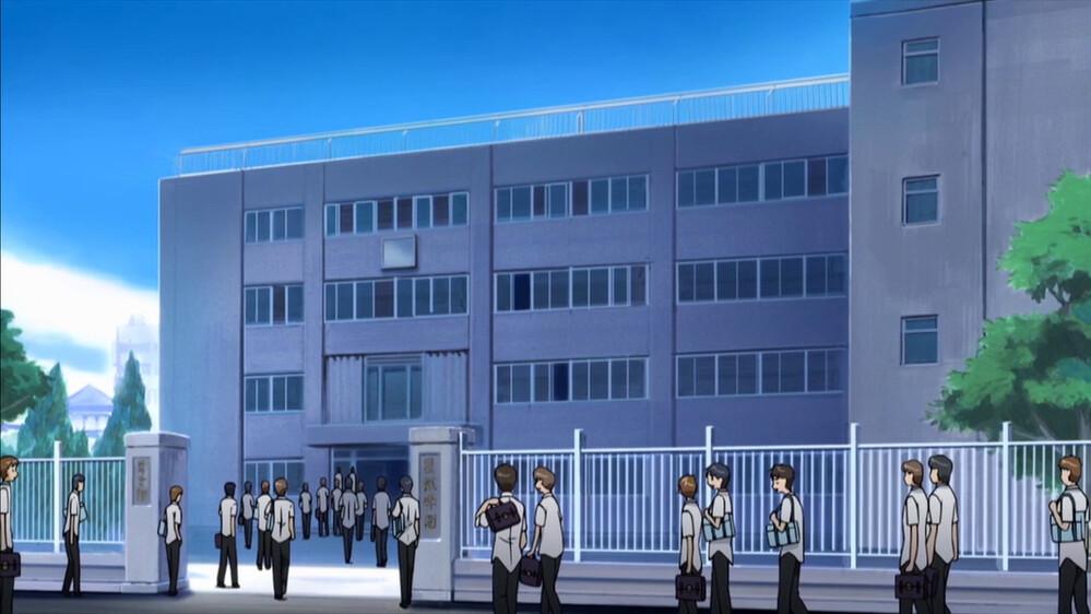 """Résultat de recherche d'images pour """"school building anime"""""""
