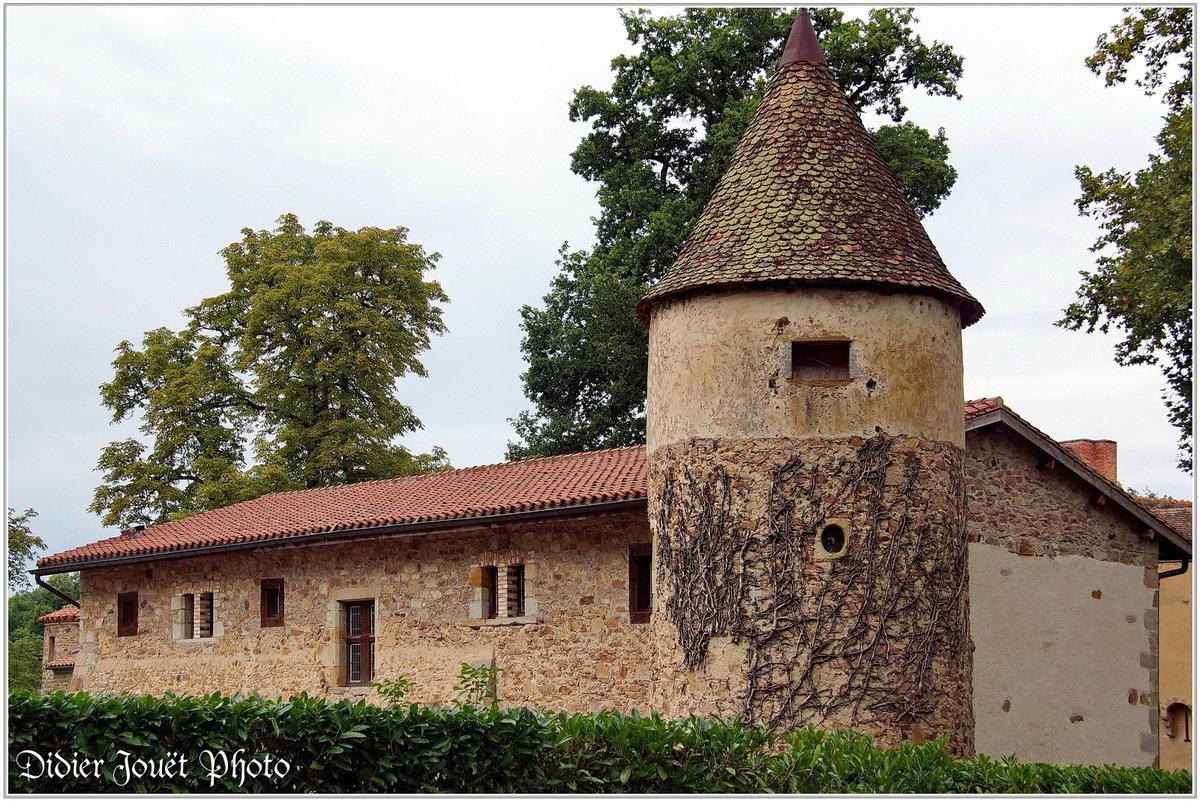 (63) Puy de Dôme - Sermentizon (1) - Château d'Aulteribe