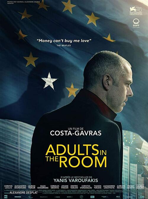 Adults in the room de Costa Gavras, 2019