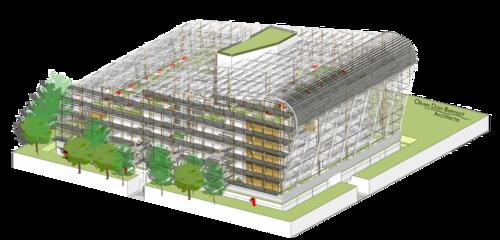 Portfolio axonométrique 04: Diplôme d'Architecture