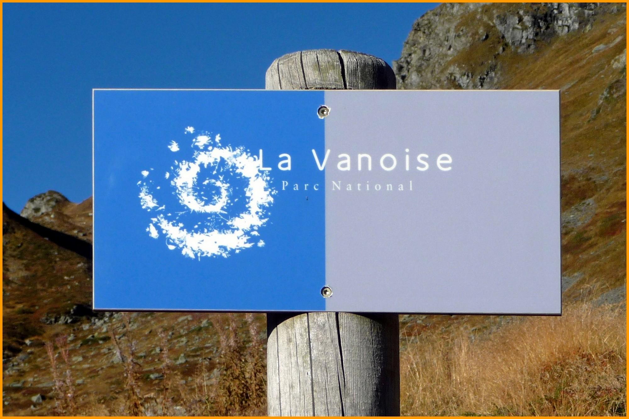 L'emblématique logo du Parc National de la Vanoise