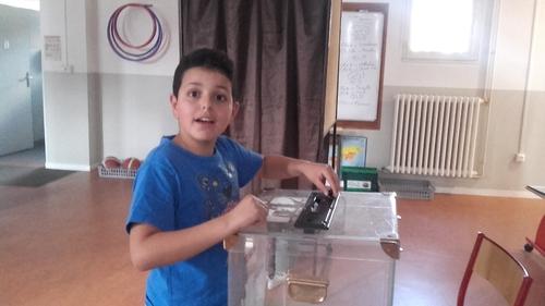 On vote !