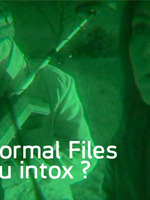 PARANORMAL FILES INFO OU INTOX FACT OR FAKED