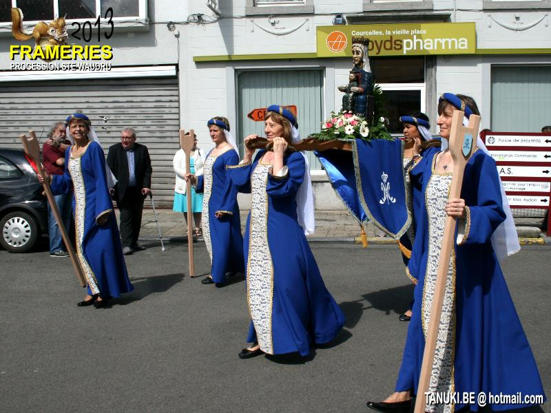 Procession Sainte Vaudru