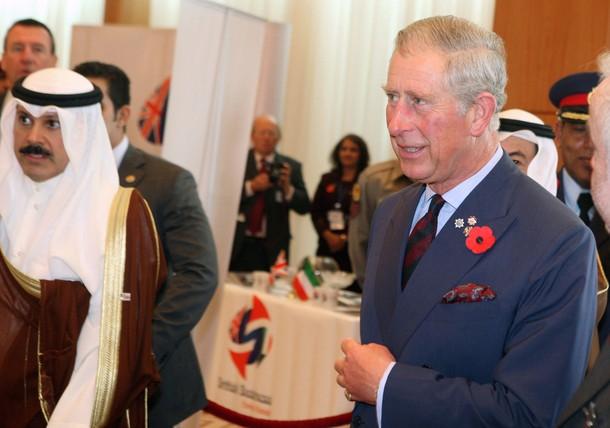 Charles au Koweit