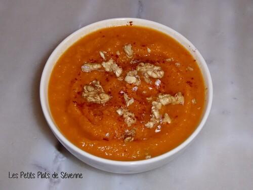 Velouté de patates douces et carottes