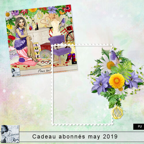 Cadeaux aux abonnés Mai 2019