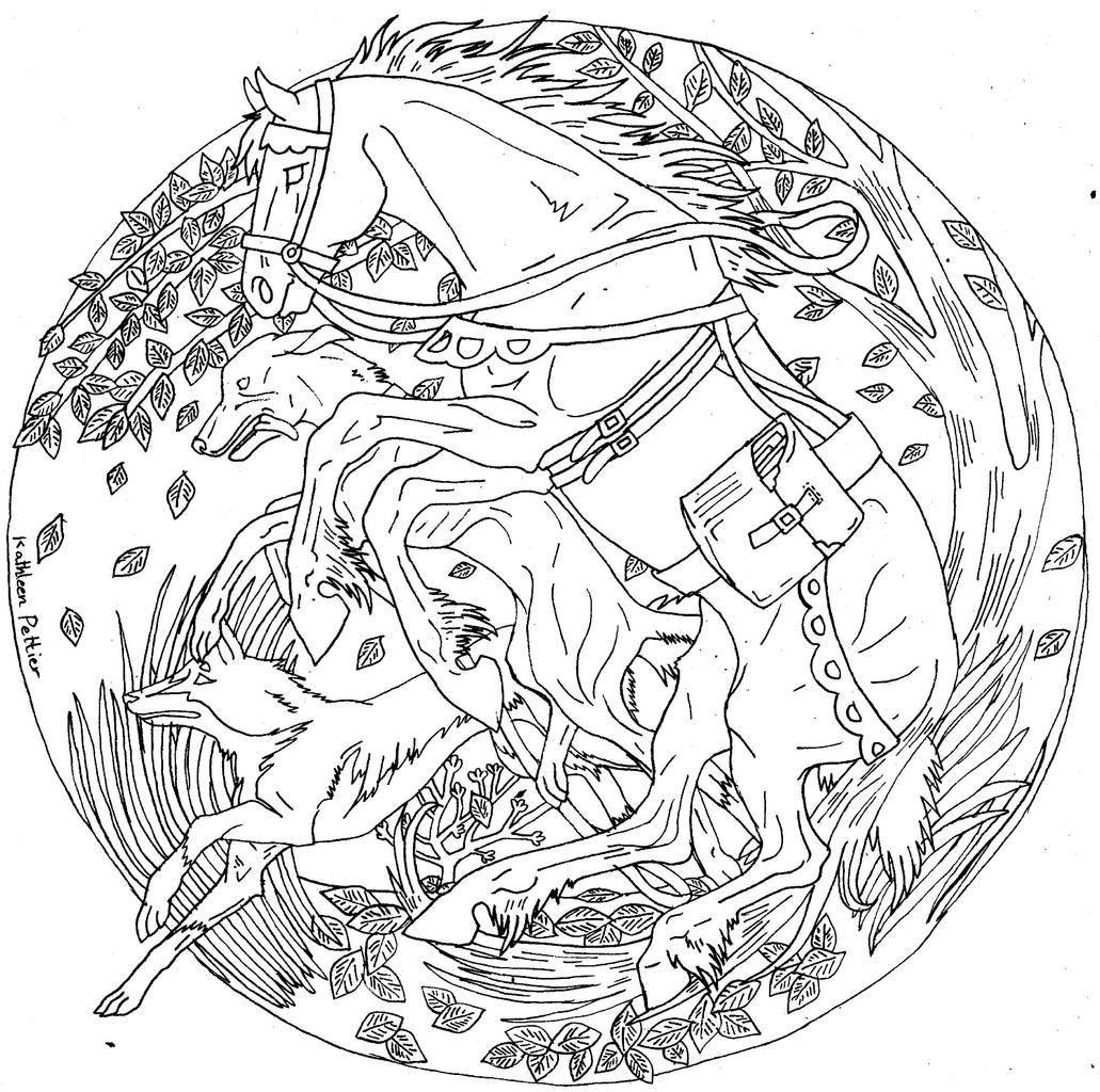 Mandala fanbook - Dessin tres dur ...