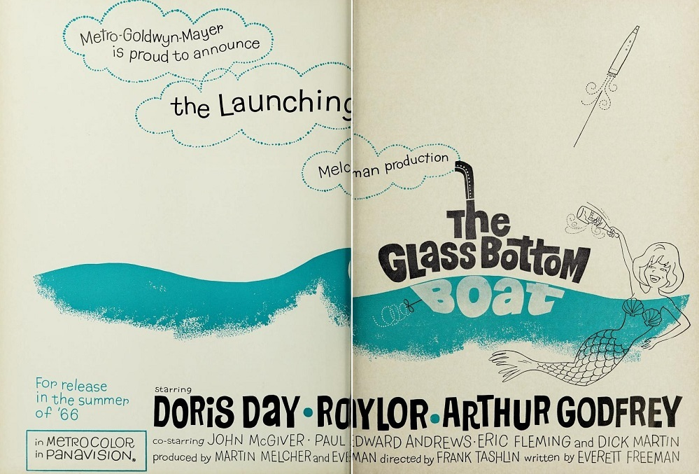 THE GLASS BOTTOM BOAT BOX OFFICE 1966