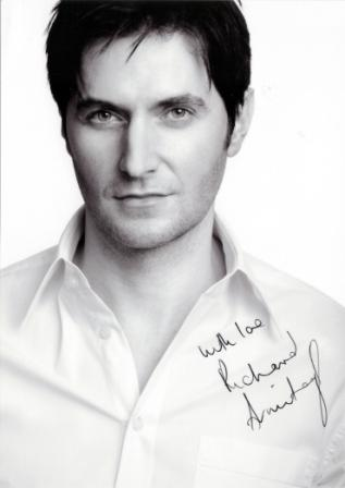 Richard Armitage France Photo dédicacée