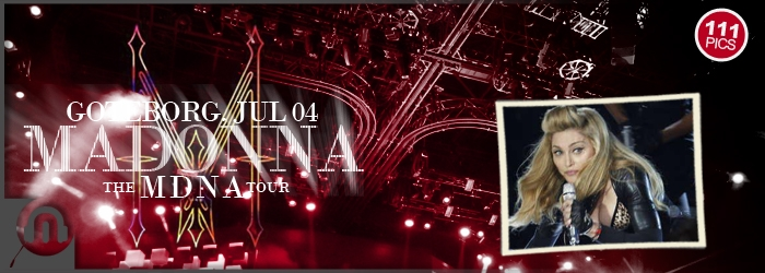The MDNA Tour - Goteborg - Pictures