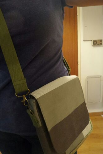 Coudre un sac pour homme
