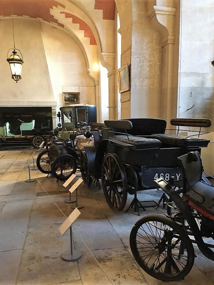 Musée automobiles Compiègne.