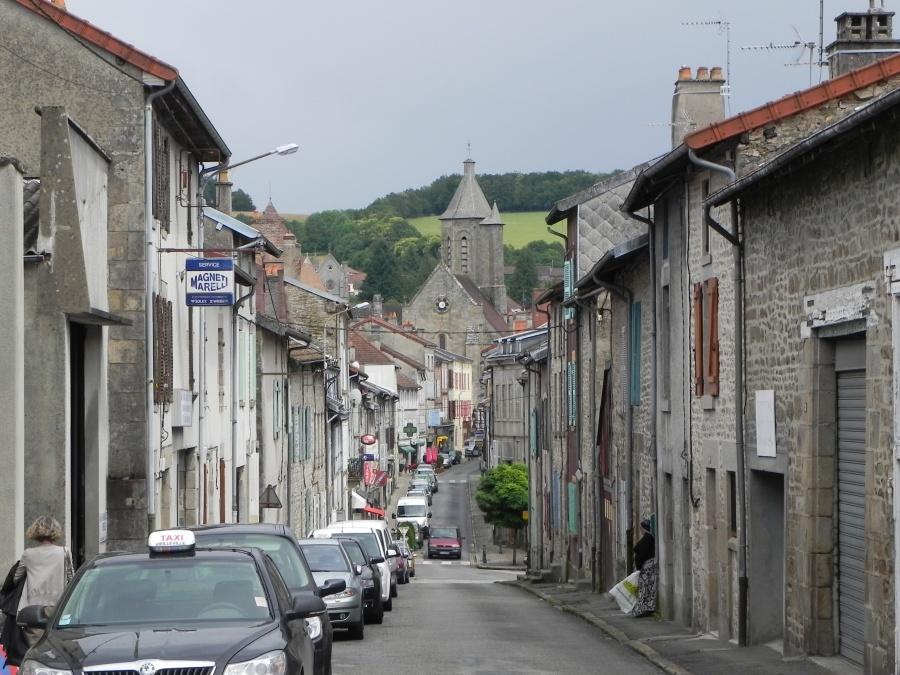 passage à Bourganeuf