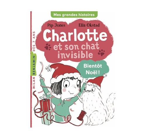Charlotte et son chat invisible Tome 4