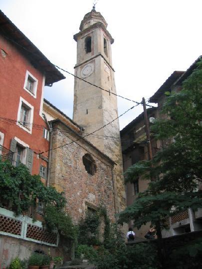 L'église de Saint-Martin Vésubie
