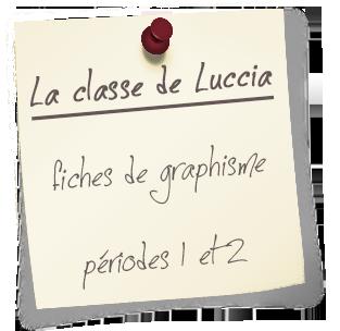 coup coeur la classe de Luccia