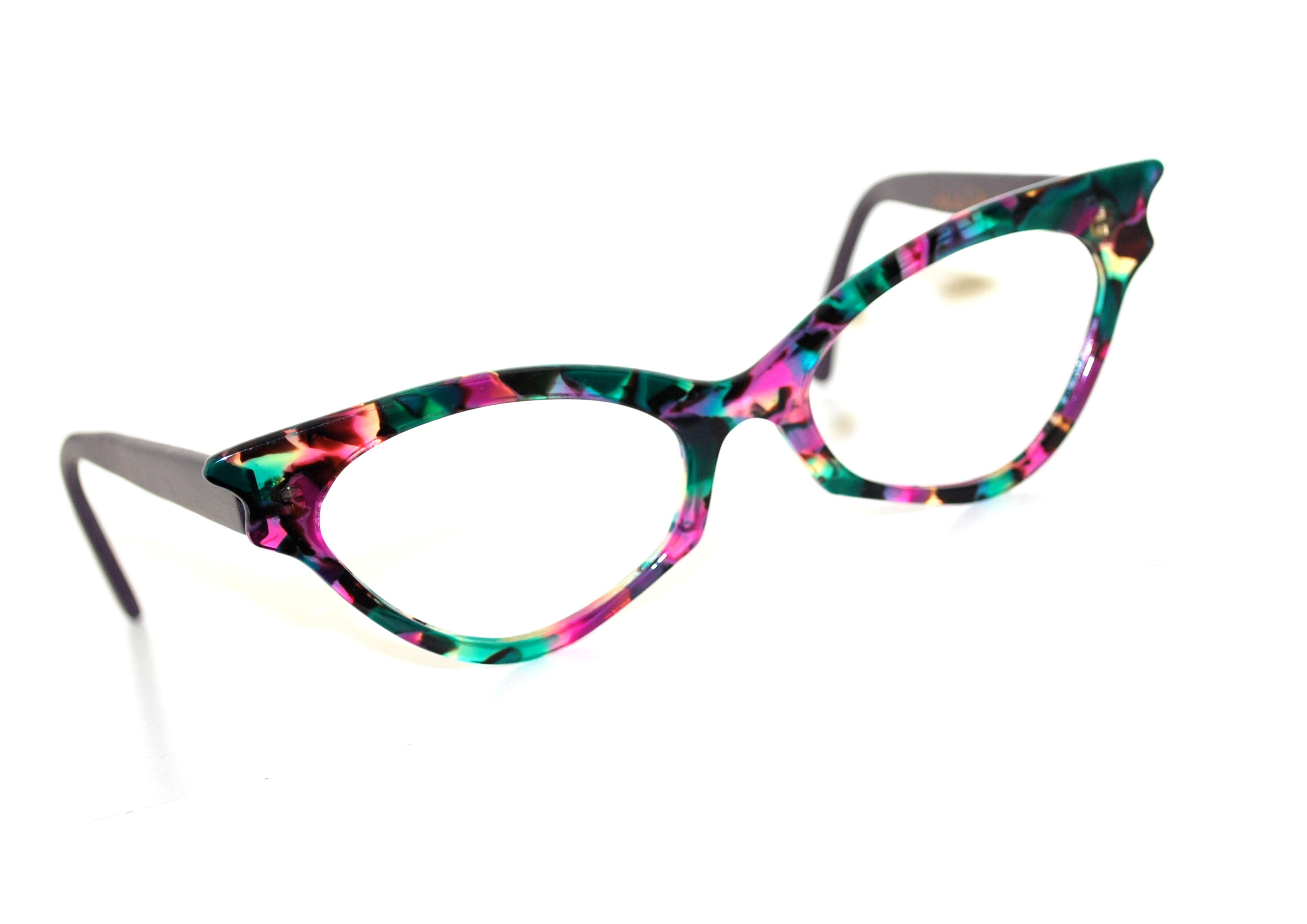 lunette papillon sur mesure multicolore - créatrice de lunettes ... 8be5680fae4