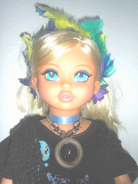 serre tête pour poupées