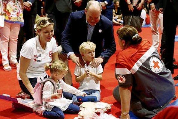 Croix rouge monégasque le 8 septembre