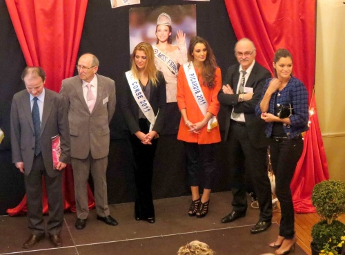 L'accueil de Miss France, Miss Bourgogne, Miss Corse et Miss Picardie par le Comité de Châtillon sur Seine