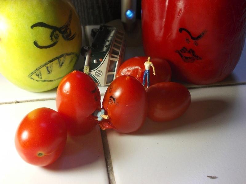 Aujourd'hui : les fruits et légumes sont dangereux et