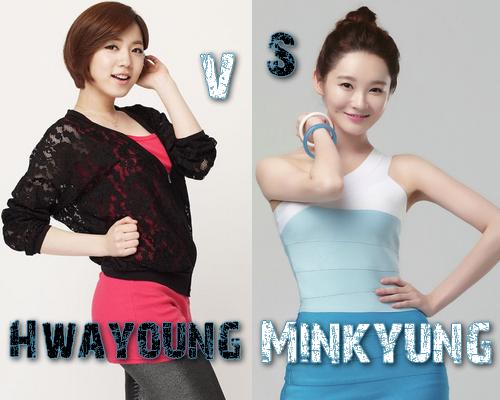 Hwayoung vs Min Kyung (Davichi) - Round 48
