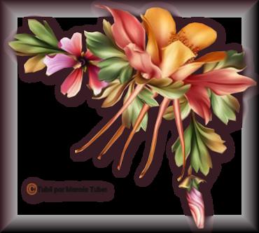 Tube fleurs 2944