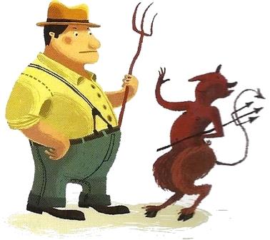 Le Paysan et le Diable (Grimm)