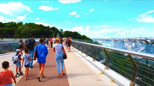 UKRAINE. KIEV. Walking Tour 4K  (Voyages)