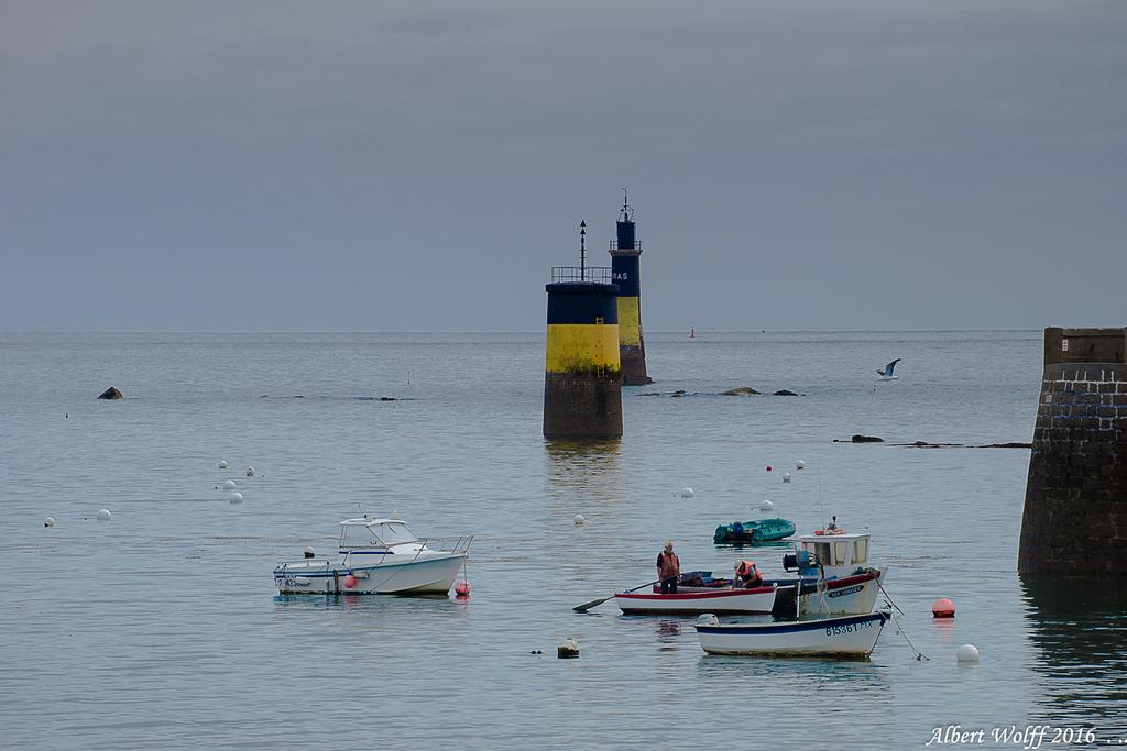 Roscoff,  le vieux port - un matin (2)