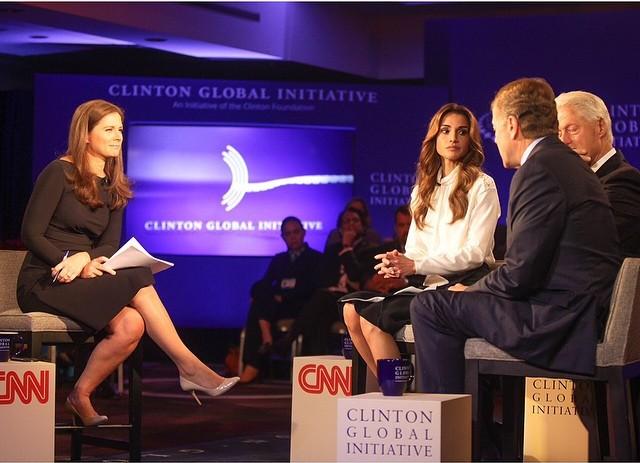 Rania chez CNN
