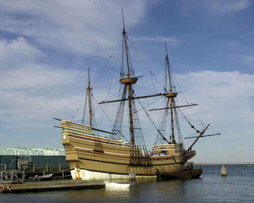 21 novembre 1620 - Mayflower