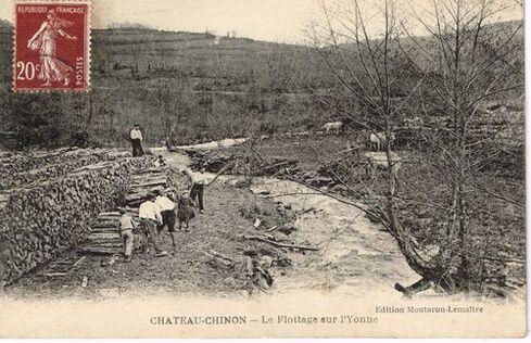 FLOTTAGE ET  FLOTTEURS  sur l'Yonne