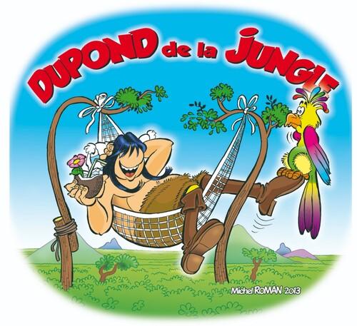 """bientot la réédition de luxe de """"Dupond de la Jungle"""" en couleur"""