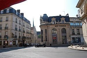 Dijon - place Darcy - rue du Dr Maret