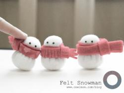 Bonhomme de neige....