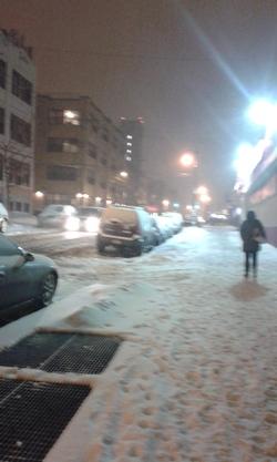 le froid et la neige... J'aime ça =)