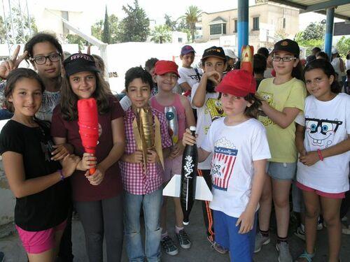 Festival de scienes et fusée à eau !