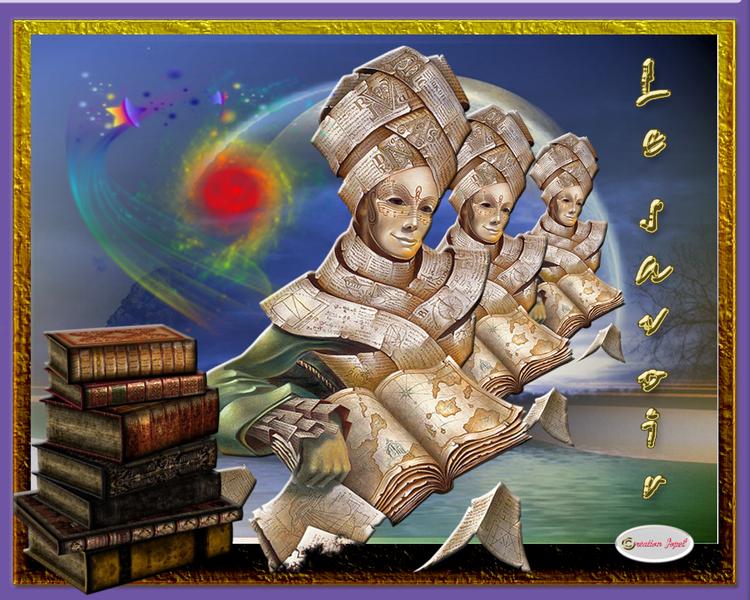 Défi : le savoir chez lamalle Magique par Jopel