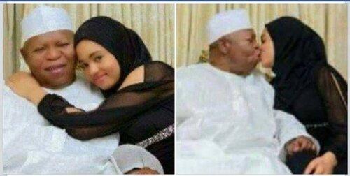 Alhaji Abubakar Audu âgé de 68 ans épouse une fille de 14 ans