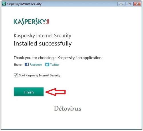 Kaspersky Internet Security 2014 - Licence 3 mois gratuits