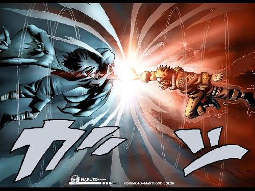 sasuke2 et naruto demon renar