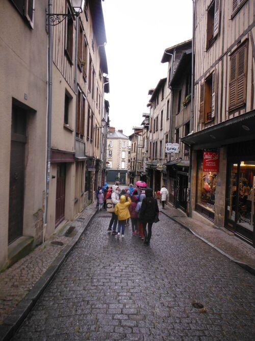 Sortie à Limoges CE2