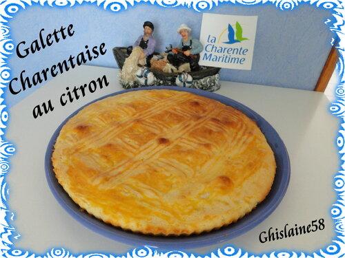 Galette Charentaise au citron
